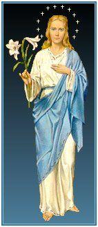 Nuestra Señora de los Lirios - Mary Our Lady of Lilies