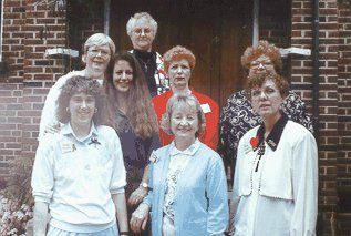 Terry went to the Evangelization School with a few of her friends