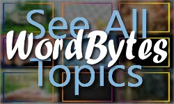 See all categories of the WordBytes site