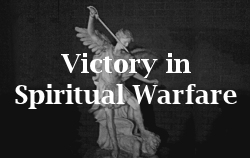Articles about gaining victory over terror and evil