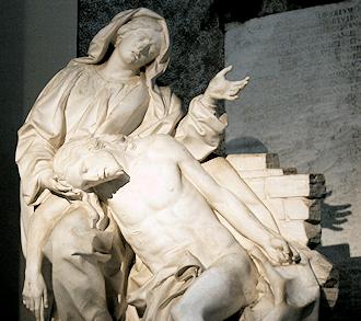 Oración para la Madre Bendita - Bernini's pieta in St. John Lateran Basillica
