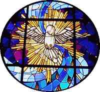 Prayers - Novena to the Holy Spirit - Holy Spirit window