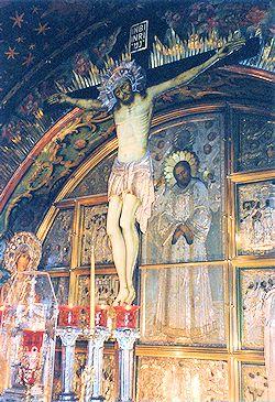 LA CRUCIFIXION DE JESÚS
