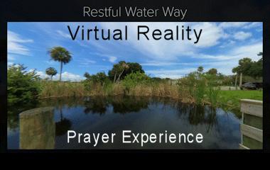 Restful Water Way Virtual Reality