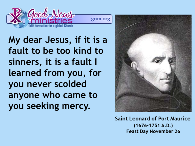 Today's Saint Quote