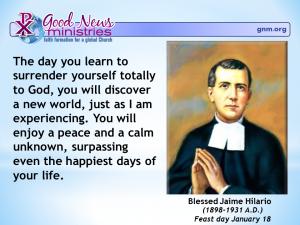 Blessed Jaime Hilario
