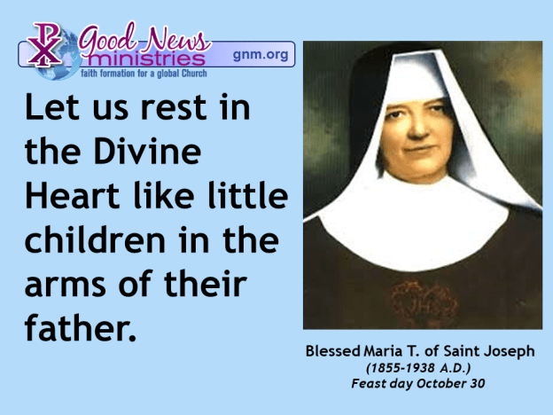 Blessed Maria T. of Saint Joseph