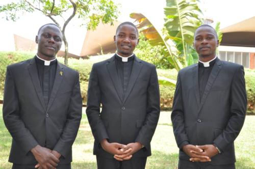 Deacons Raphael, Frank, Epafra of Uga