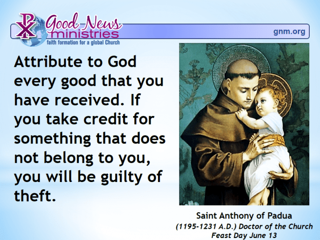 Today's Saint Quote