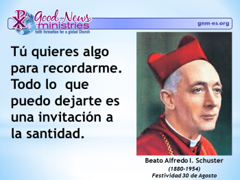 Beato Alfredo I. Schuster