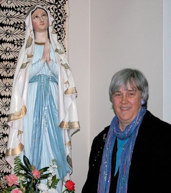 Terry Modica and Mary the Blessed Mother