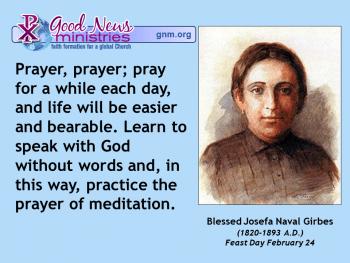 Blessed Josefa Naval Girbes