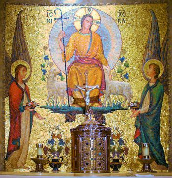 Jesus reveals himself in the Eucharist