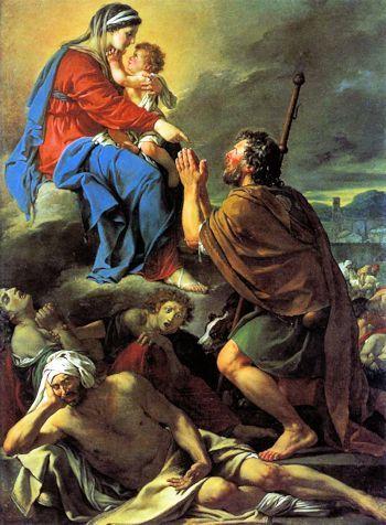 Oraciones a Santos que detienen Plagas - San Roque