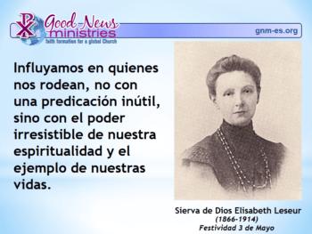 Sierva de Dios Elisabeth Leseur
