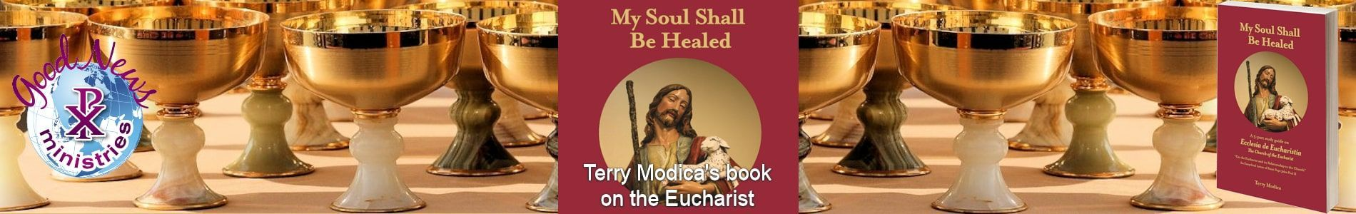 My Soul Shall Be Healed - book by Terry Modica