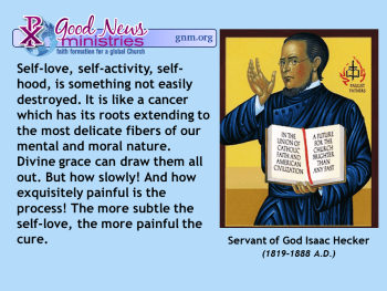 Servant of God Isaac Hecker