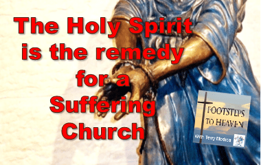 The Holy Spirit is the remedy for a Suffering Church