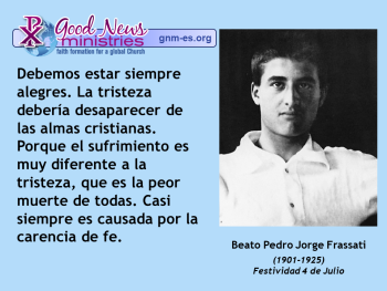 Beato Pedro Jorge Frassati