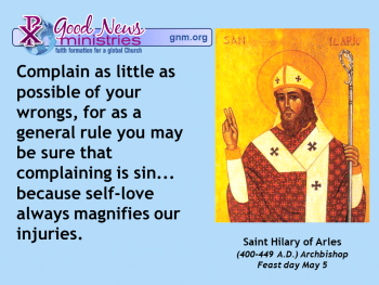 Saint Hilary of Arles