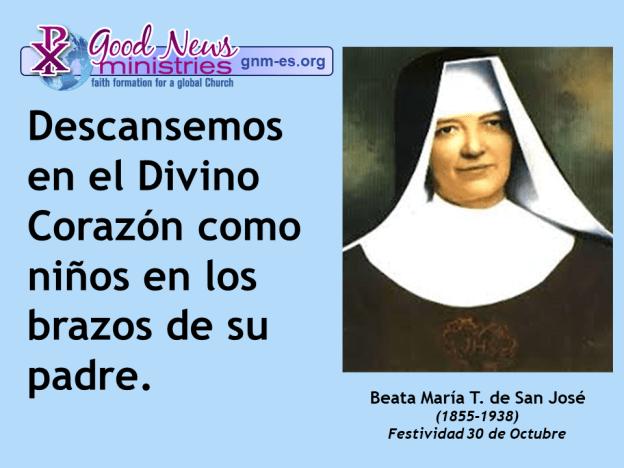 Beata María T. de San José