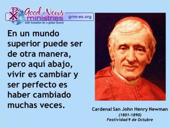 Cardenal San John Henry Newman