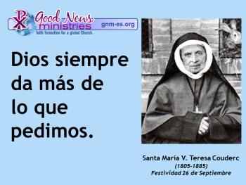 Santa María V. Teresa Couderc