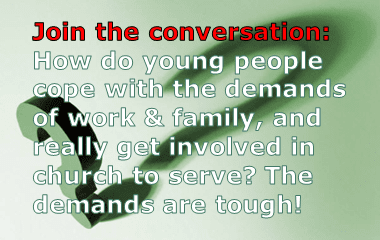 How do young people cope with the demands of life?