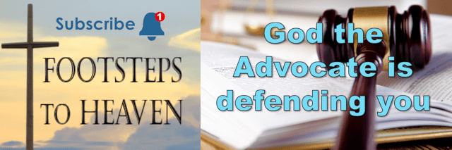 God the Advocate is defending you
