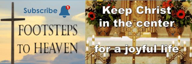 Keep Christ in the Center for a Joyful Life
