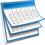 calendar of online events