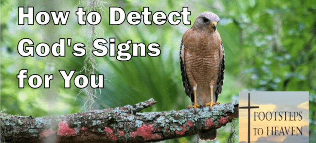 How to Detect God's Signs for You