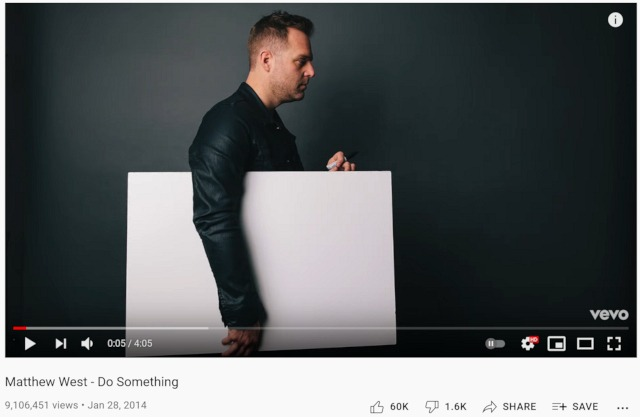 Do Something, a song by Matthew West