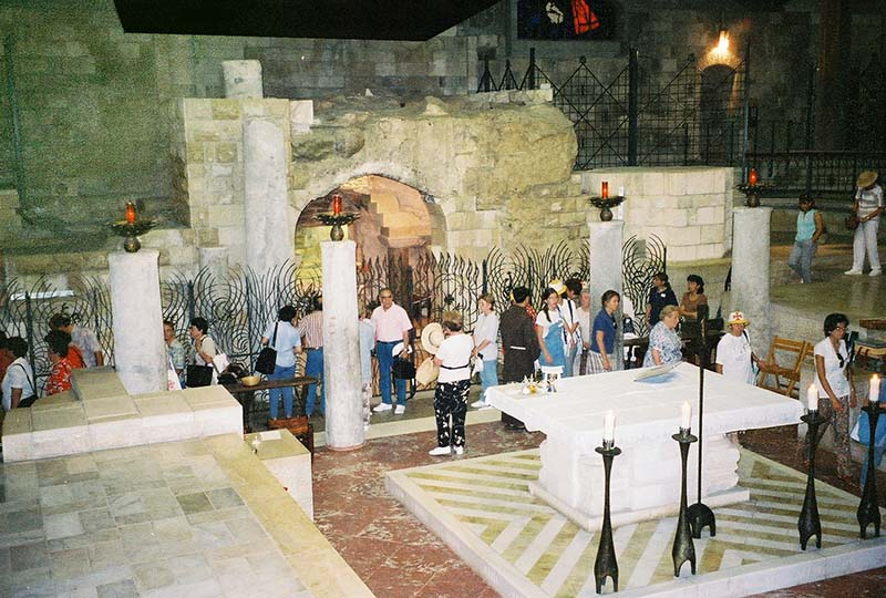Grotto Room at Church of the Annunciation