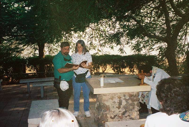Reading of the Sermon on the Mount at Church of the Beatitudes