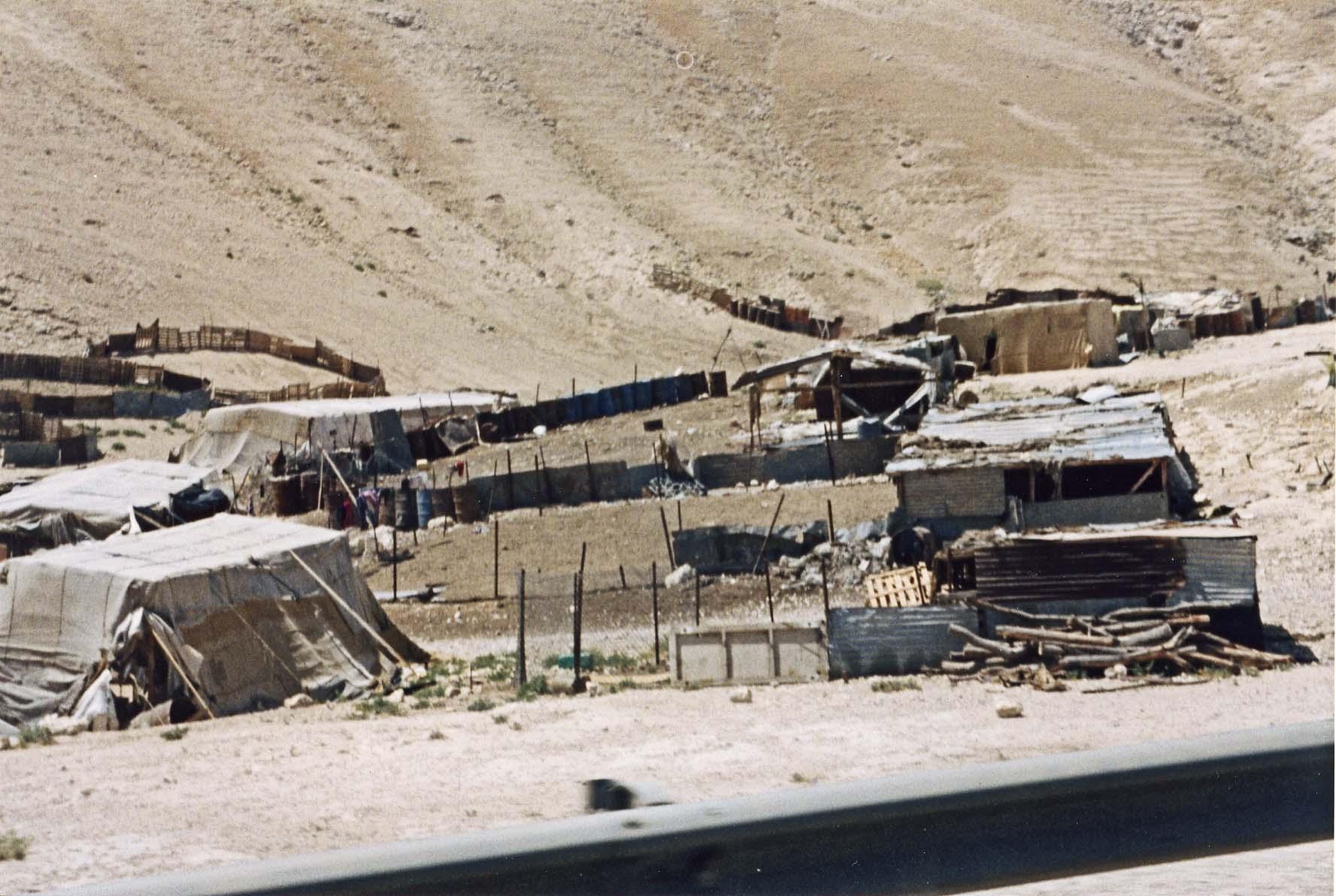 Bedouin campsites