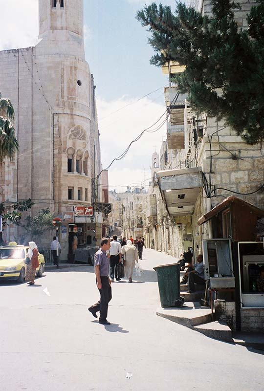 Local street in Bethlehem