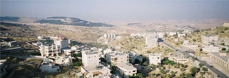 Sweeping view of Bethlehem