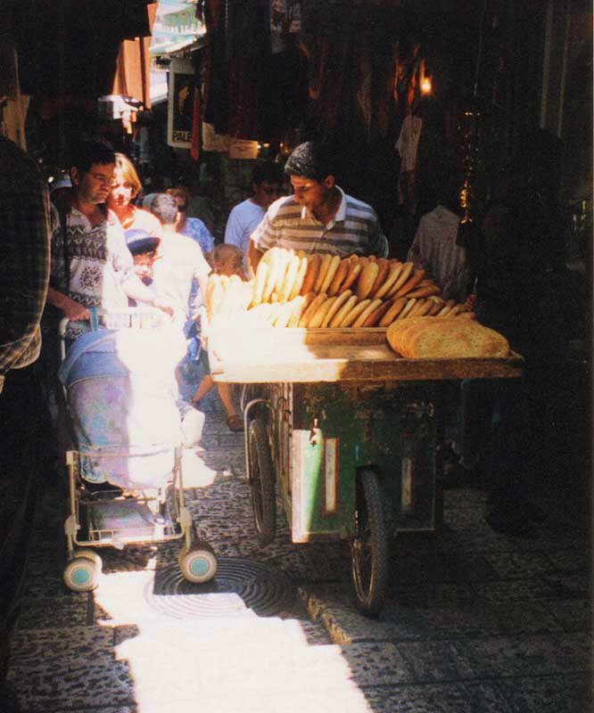 Bread Merchants in the Muslim Quarter