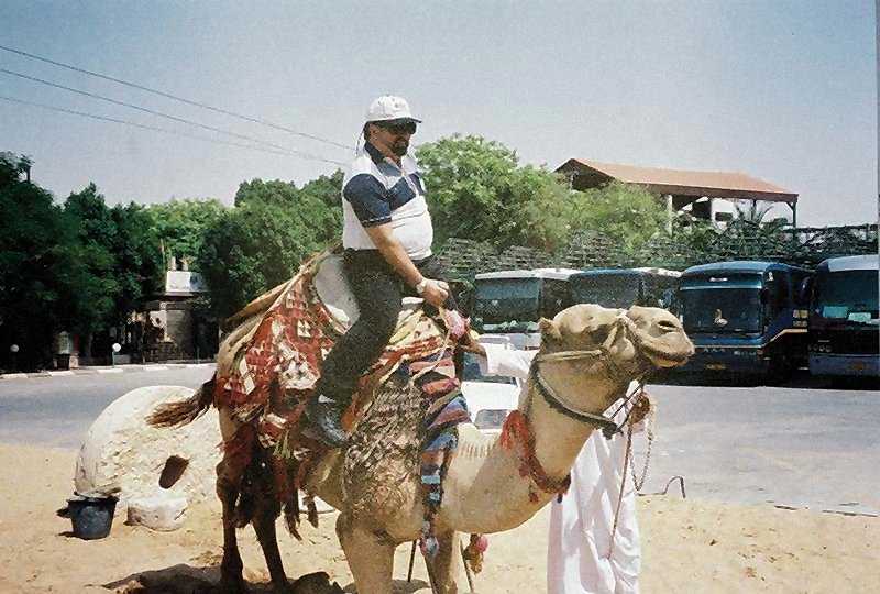 Camel Ride in Jericho