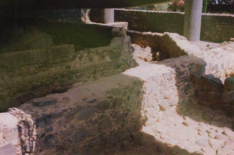 Ruins of Peter's house in Capharnaum