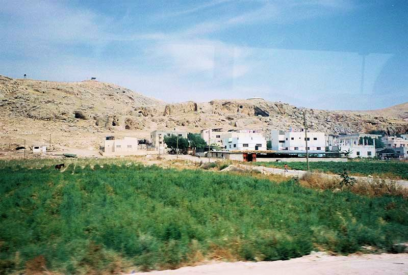 Shepard caves in the hillside