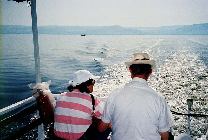 Boat ride on the Sea of Galilee