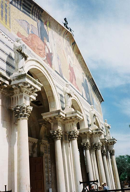 Exterior of Church of All Nations in Gethsemane