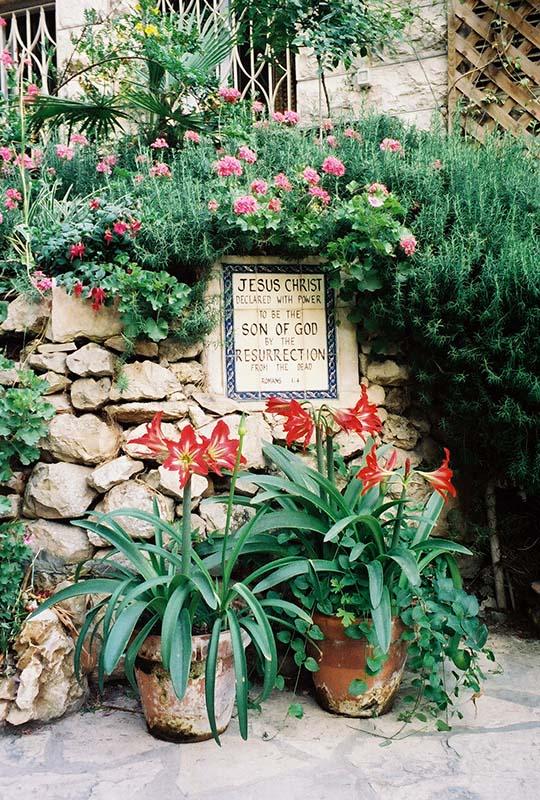 Jesus' resurrection marker- Garden Tomb
