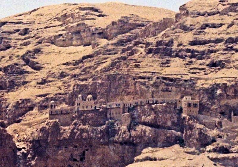 Ancient Monastery in Jericho