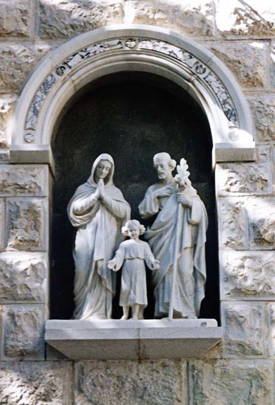 Statues of the Holy Family