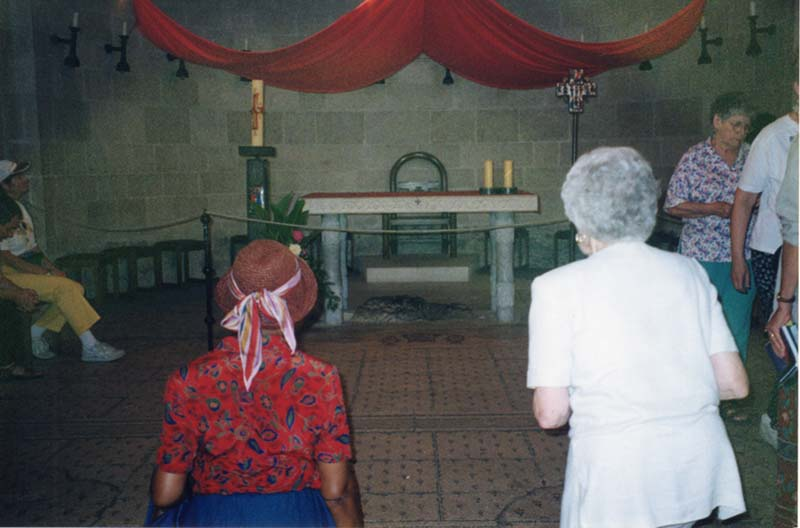 Altar at the Church of the Multiplication