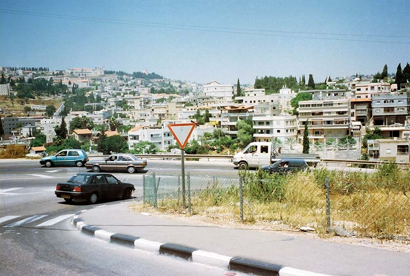 Arriving at Nazareth