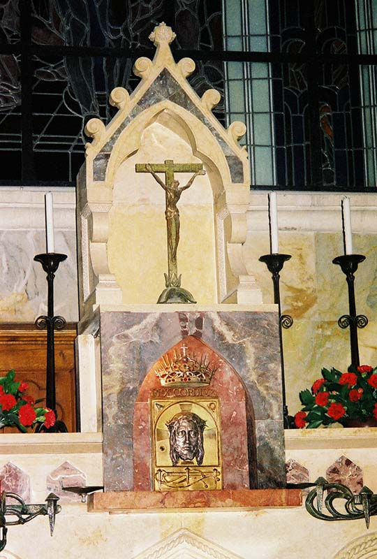Altar at Church of the Condemnation